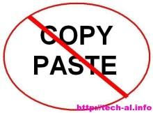 Caktivizoni mundesin copy-paste te faqes tuaj