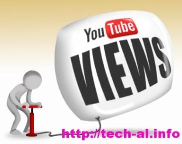 Youtube ndryshon politiken e saj per sa i perket Views