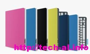 Logitech Keyboard Folio dhe ngjyrat