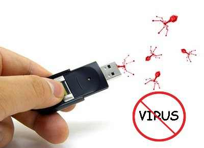 show hidden file from virus