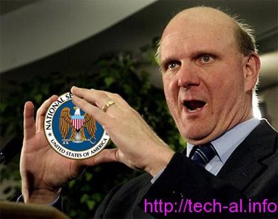 NSA tensionon edhe komapnie Microsoft