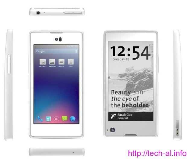 Tech Al - Telefoni inteligjent YotaPhone (video)