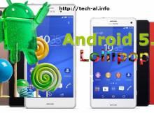 Sony bene upgrade Android 5.0 Lollipop smartphone-te Xperia Z3 dhe Z3 Compact!