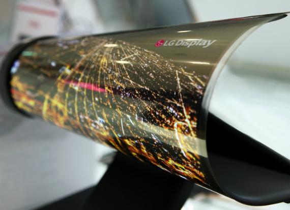 LG Display Rrollable: Ekrani që mbështillet si gazetë!